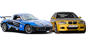 Porsche Boxster and BMW serie 3 Kit M