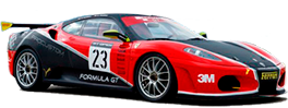 Drive a Ferrari F430 GTS Challenge on a racetrack in FormulaGT.es